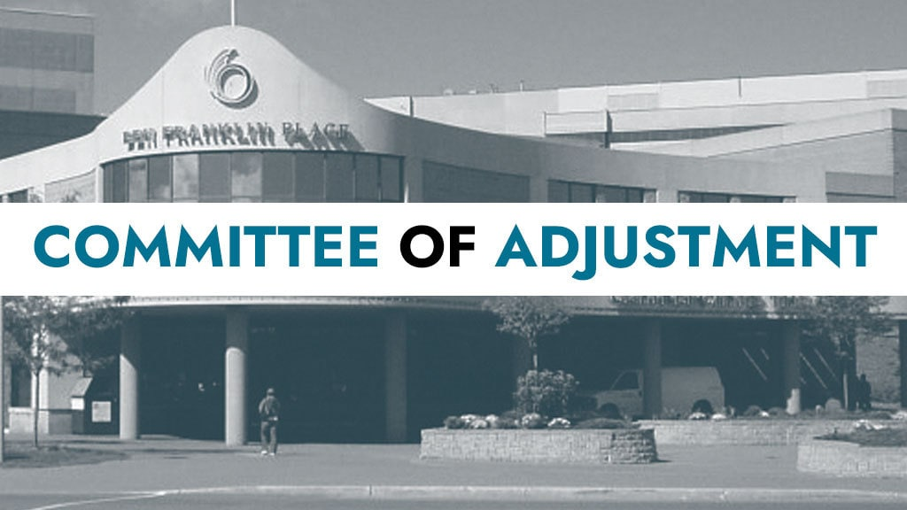Stittsville application at the Committee of Adjustment (Feb 5)