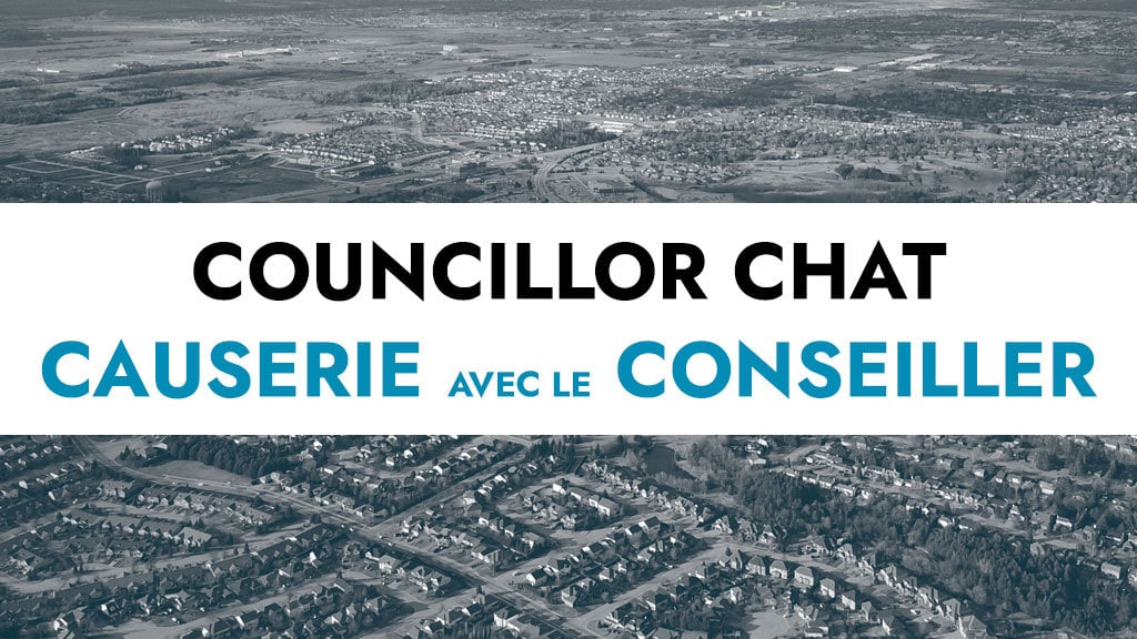 JULY 17: Councillor Chat @ Blackstone Park