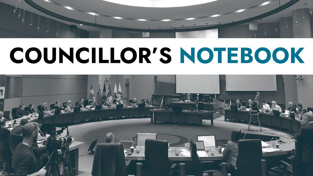 COUNCILLOR'S NOTEBOOK: Three things from City Council