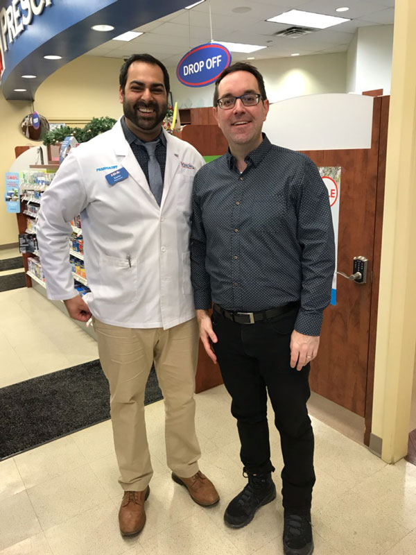 Flu Shot with Karim from IDA