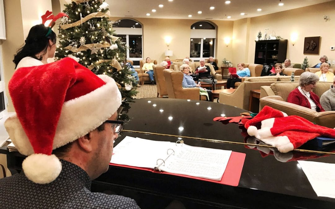 PHOTOS: Christmas singalong at Hazeldean Gardens