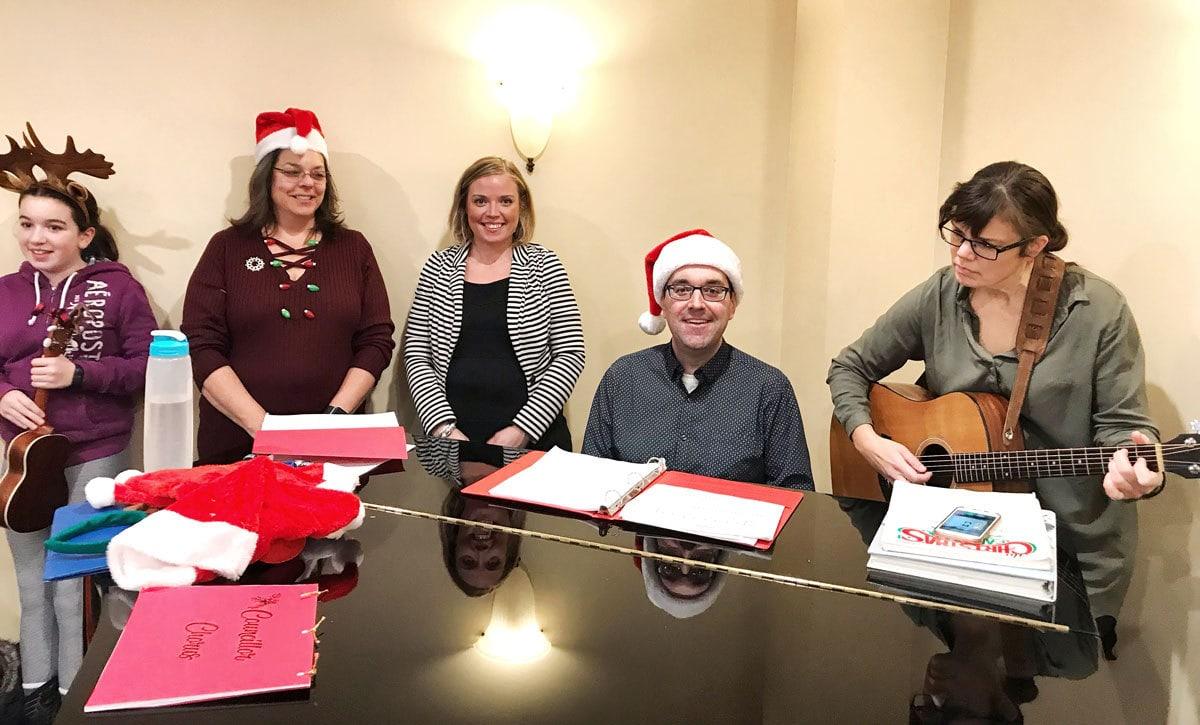 Christmas Choir at Hazeldean Gardens