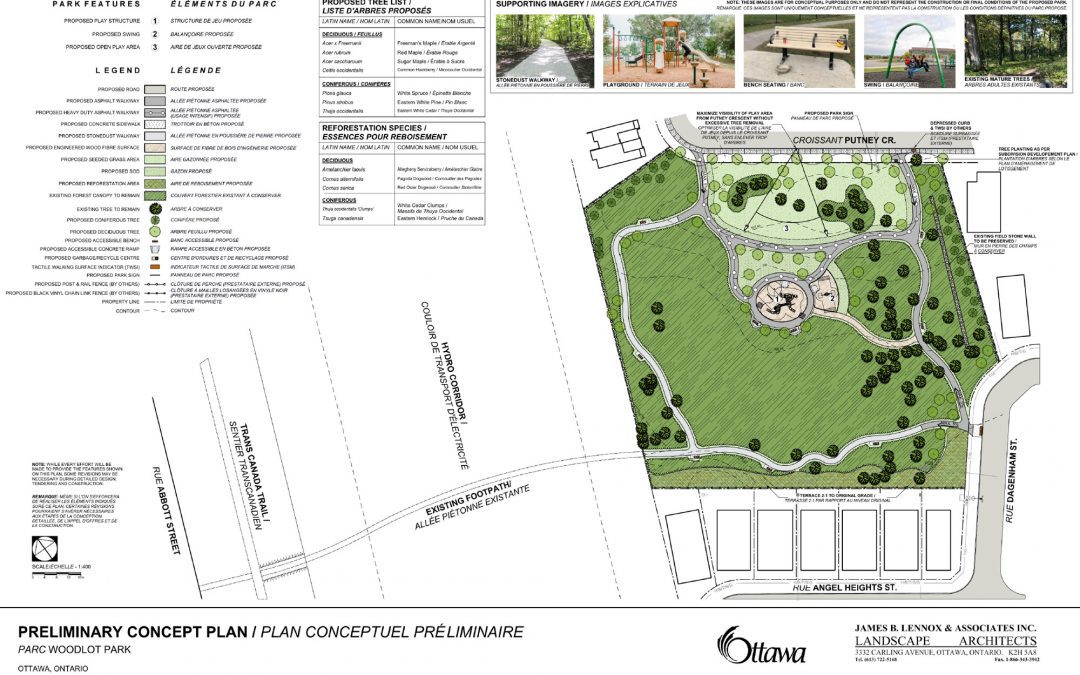 Concept plans for new Putney Woodland Park in the Fernbank community