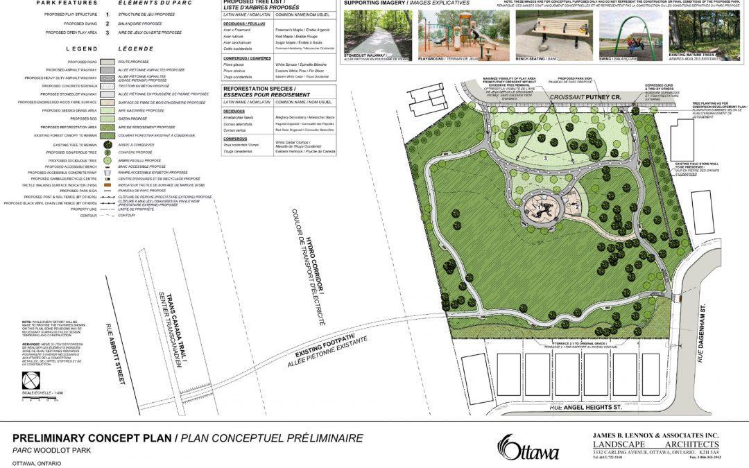 Concept plans for new Putney Woodland Park in the Fernbank community