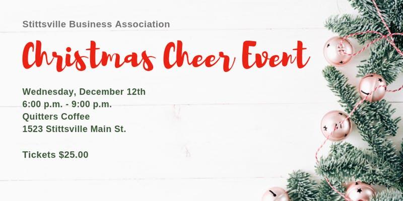 DEC 12:  Stittsville Business Association Christmas Cheer