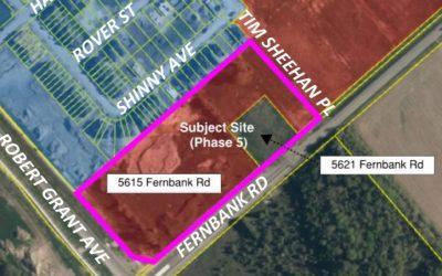 RECAP: Public meeting for 5615 & 5621 Fernbank plan of subdivision