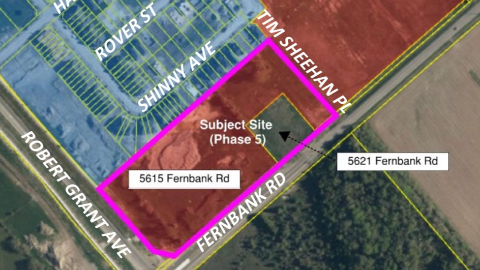 FEB 20: Meeting on draft plan of subdivision for 5615 & 5621 Fernbank