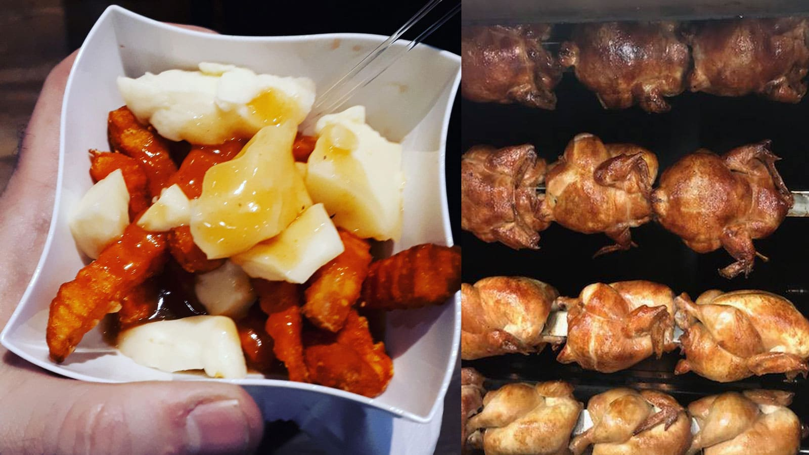 Poutine and chicken at Benny&Co.