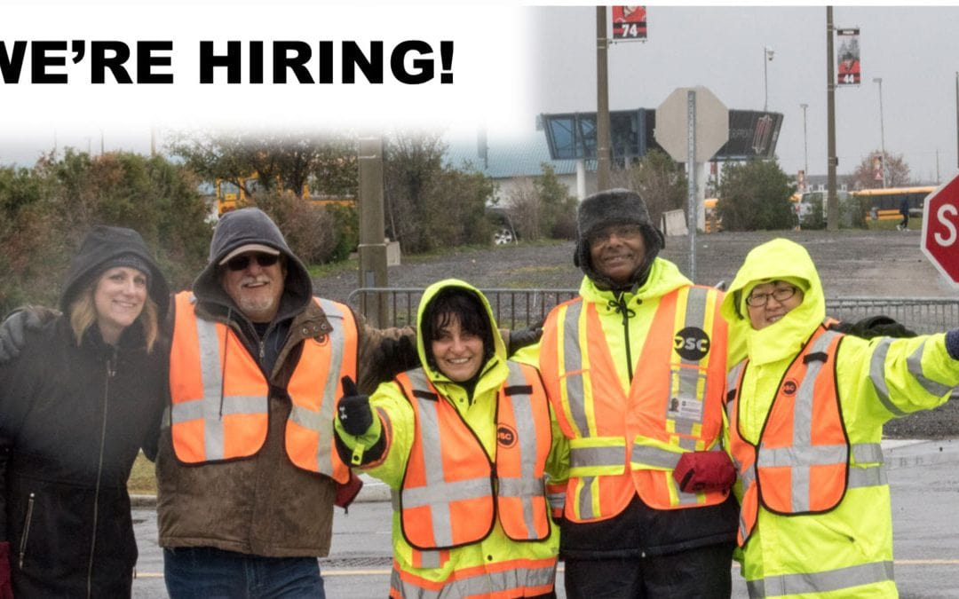School crossing guard positions available now in Stittsville