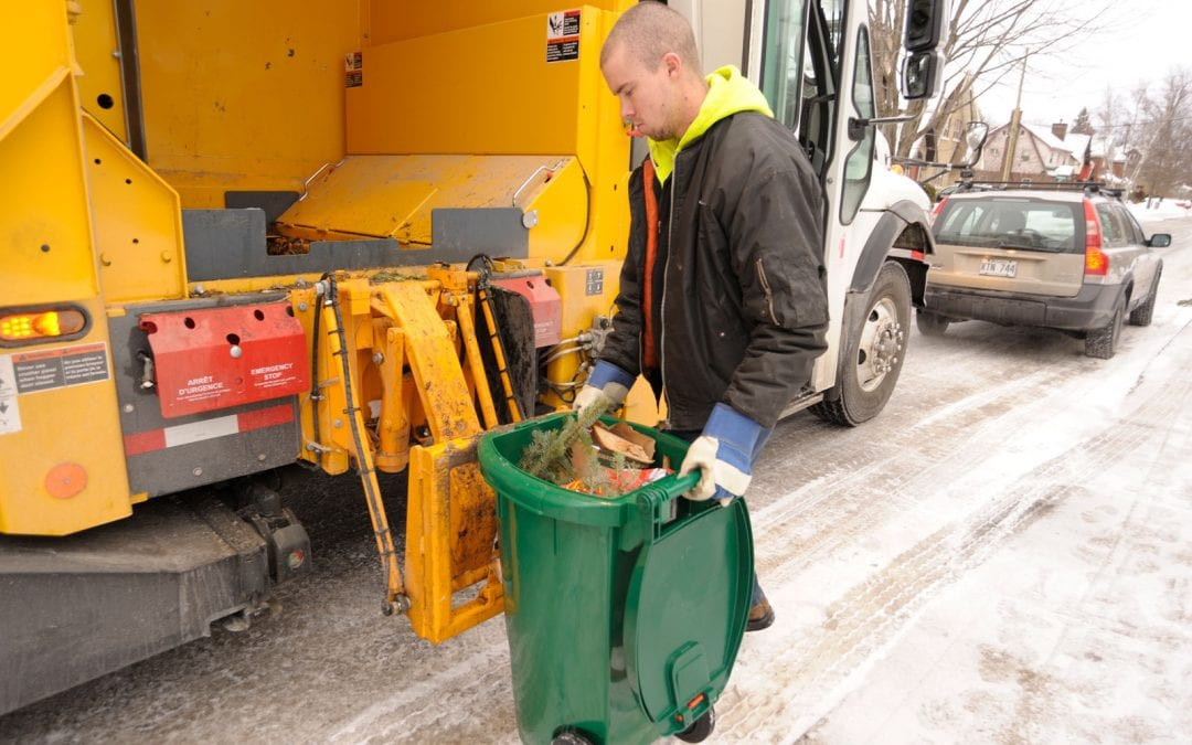 Green bin, recycling and garbage collection cancelled for Wednesday, February 13