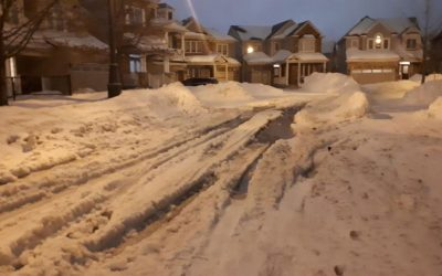 An update on snow clearing operations