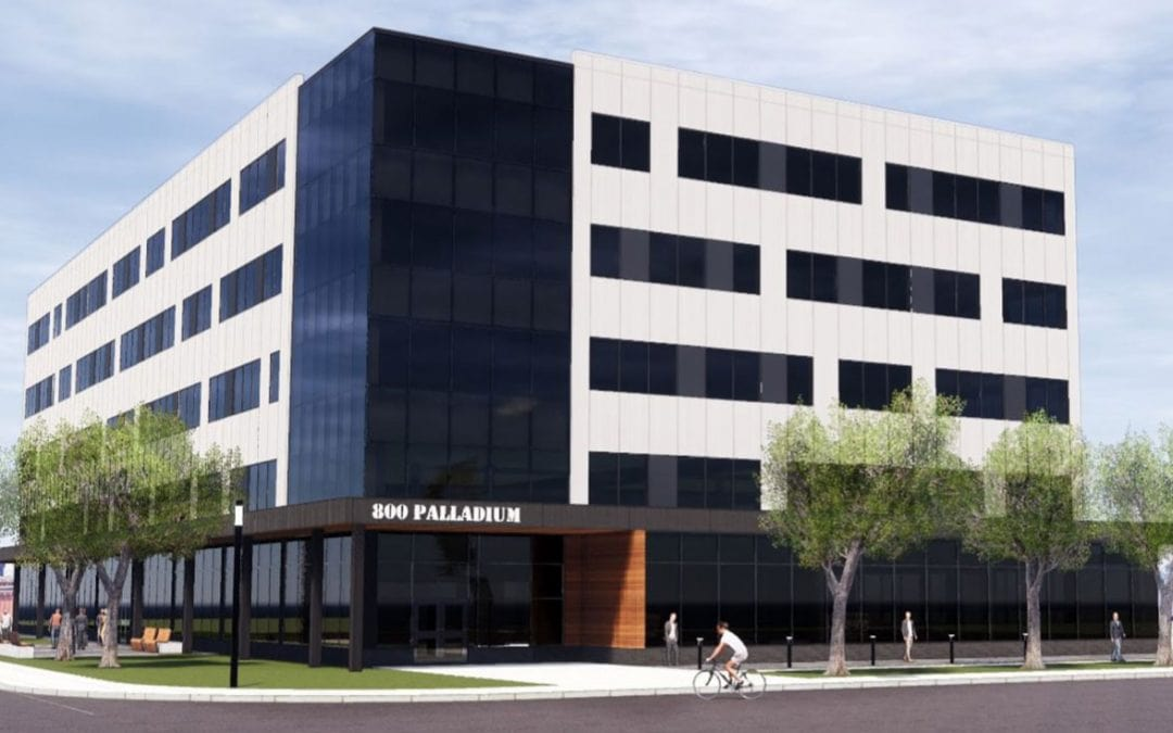 New office building application for Ford research facility at 800 Palladium Drive