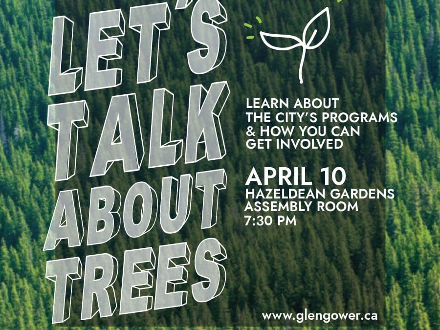 OPEN HOUSE: Let's Talk About Trees (April 10)
