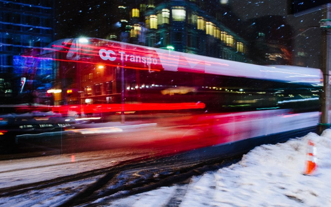 How OC Transpo responds to emergency weather situations