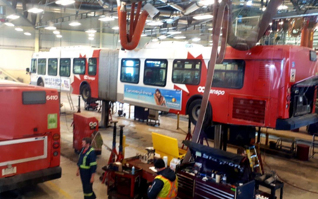 COUNCILLOR'S NOTEBOOK: Touring OC Transpo's maintenance facility