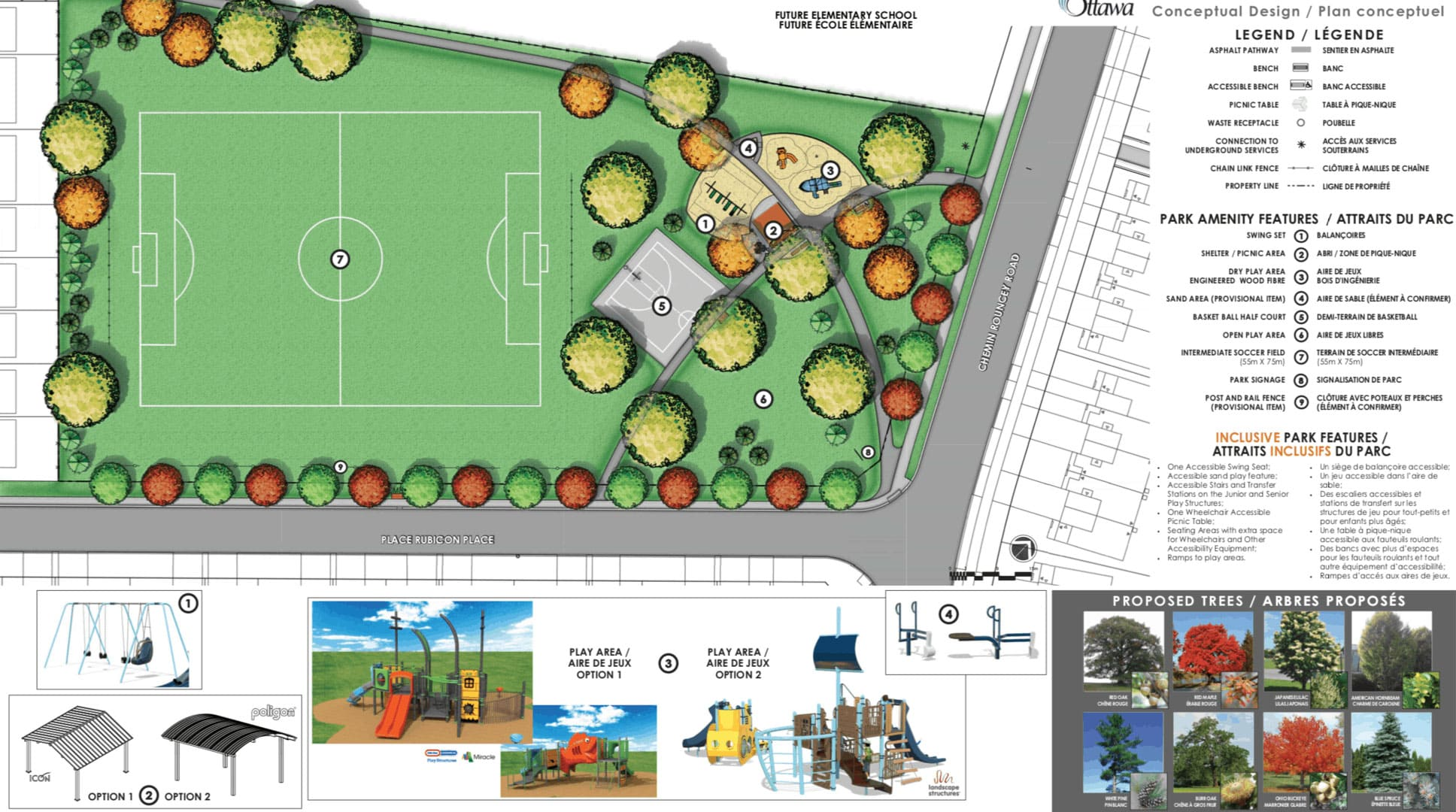 Rubicon Park proposal