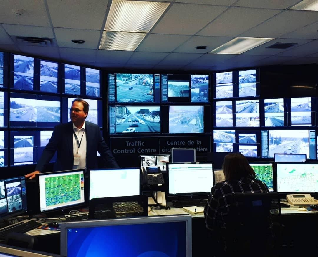 Traffic operations - control centre