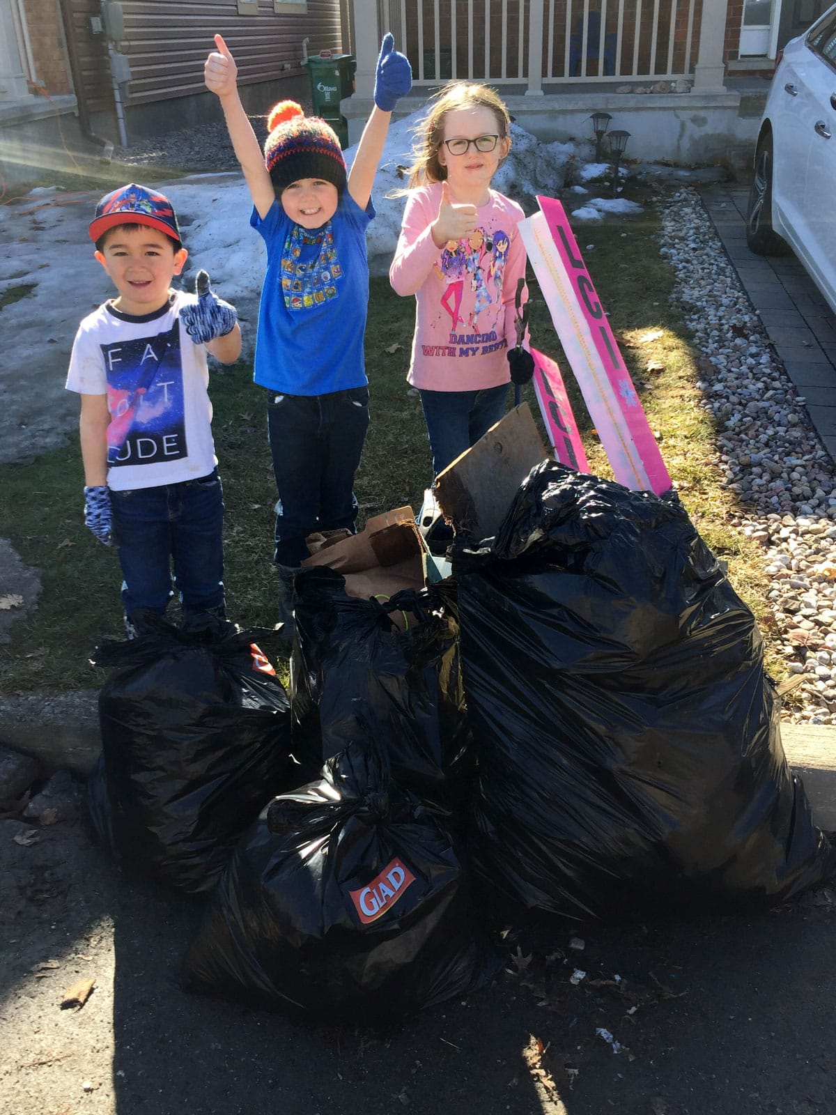 Clean-up at Brigatine Park and the surrounding area in Fairwinds.
