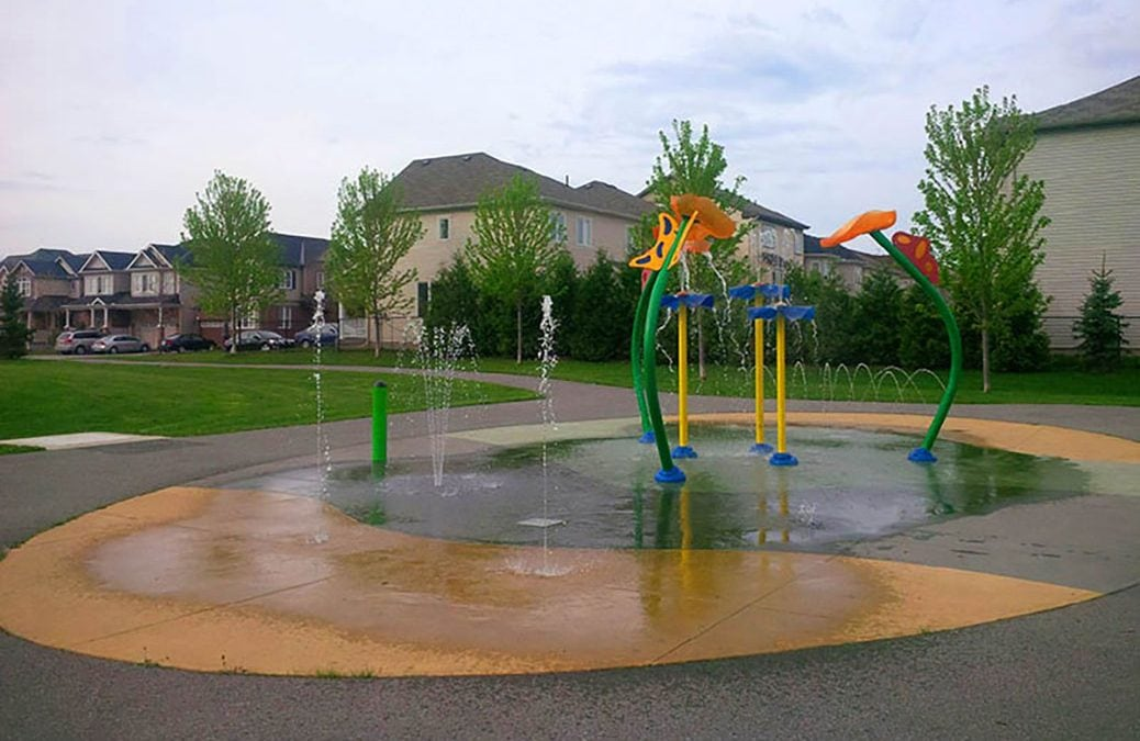 Splash pads are open across Stittsville