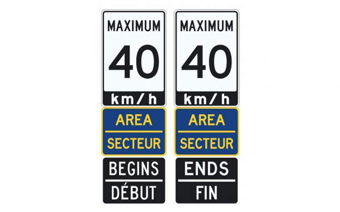 Area speed limit signs are coming to several Stittsville neighbourhoods