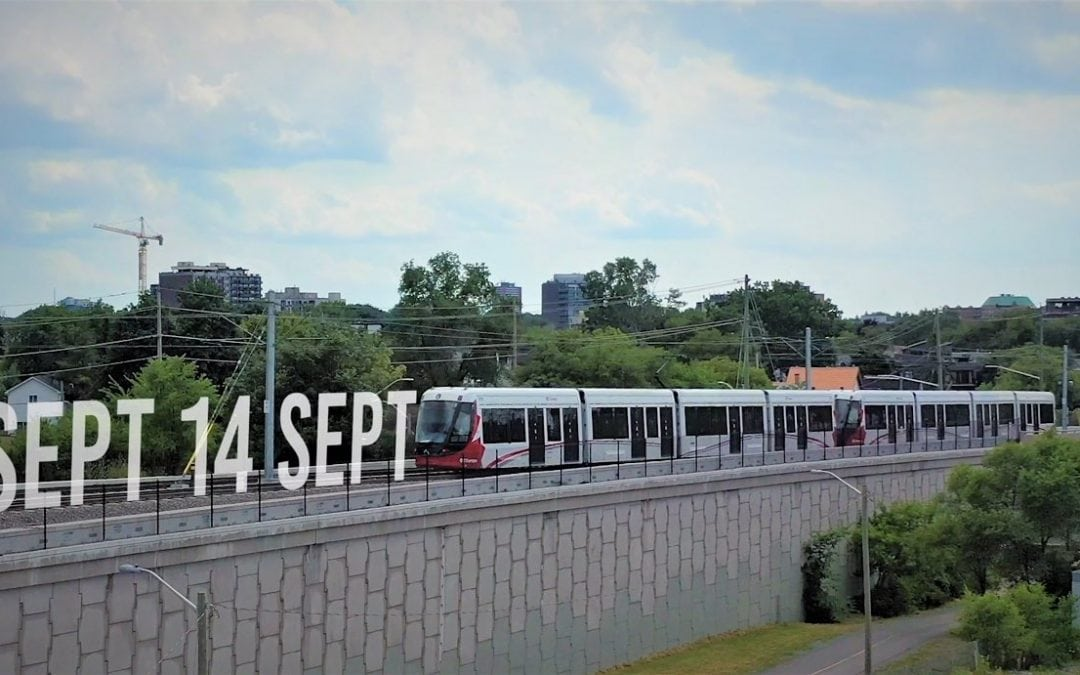 Light Rail launches September 14, and here's what to expect