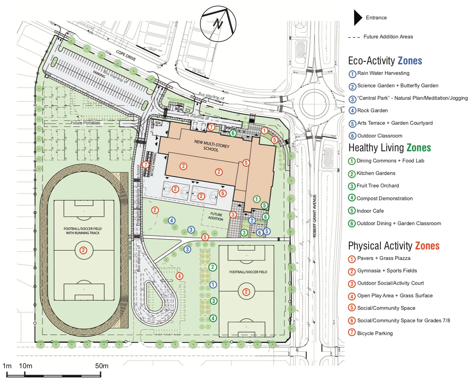 Stittsville public high school site plan map