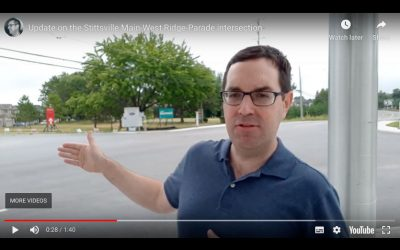 UPDATE: Improving safety at the Stittsville Main-West Ridge-Parade intersection