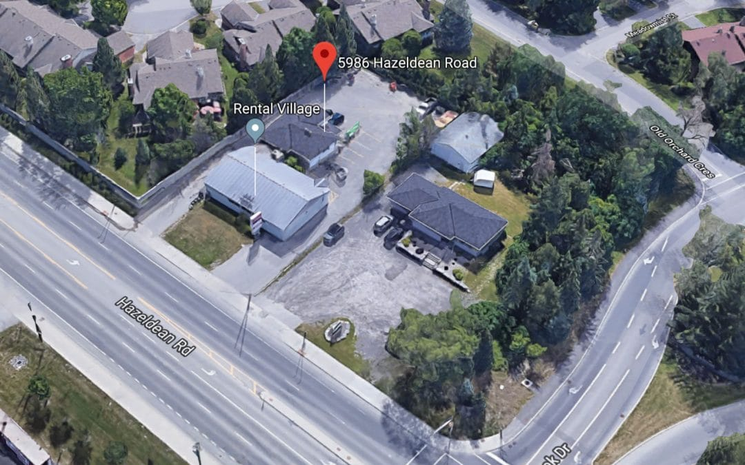 Mixed use building proposed for Hazeldean at Springbrook