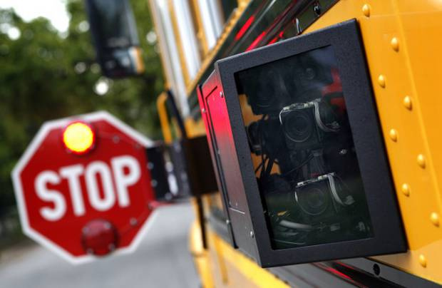 Four more school buses being equipped with stop arm cameras