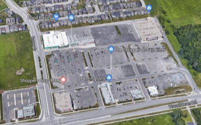 New retail space proposed for 5705 Hazeldean Road in the Shoppes at Fairwinds