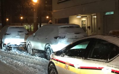Stay on top of overnight parking bans this winter season