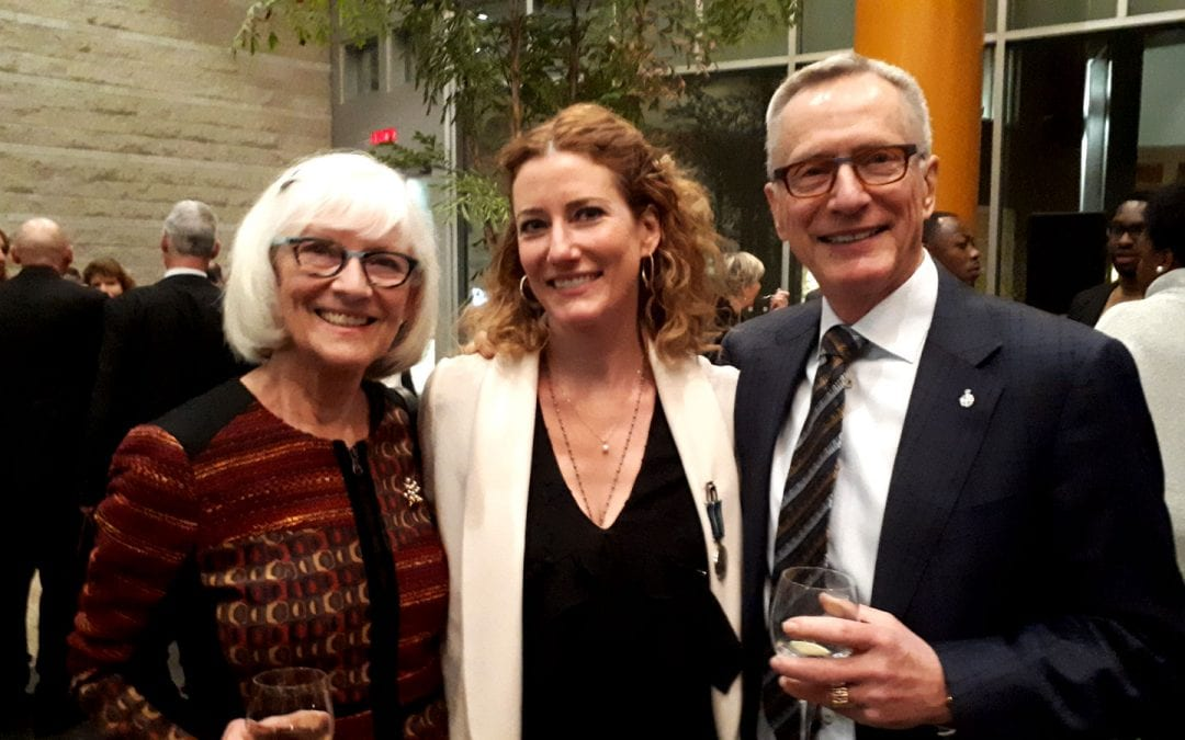 Kathleen Edwards inducted to the Order of Ottawa
