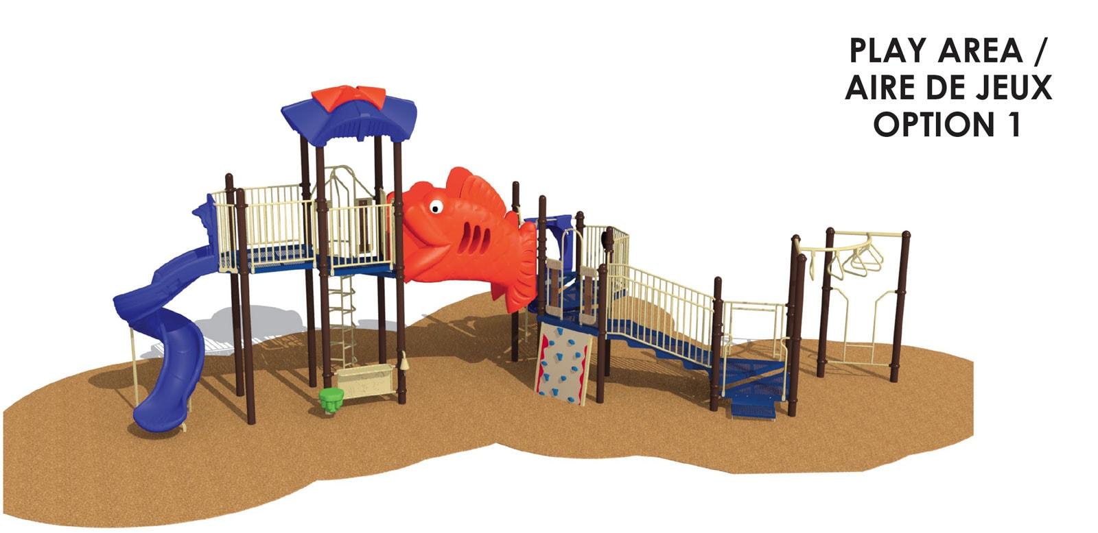 Atlas Park - Playground option 1