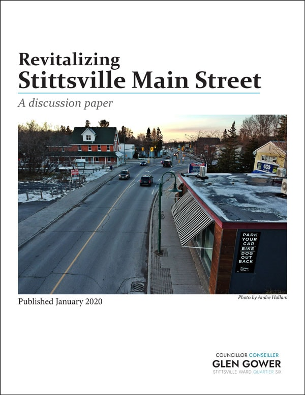 Stittsville Main Street discussion paper