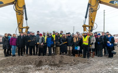 NOTEBOOK: Groundbreaking for the Campeau Drive extension