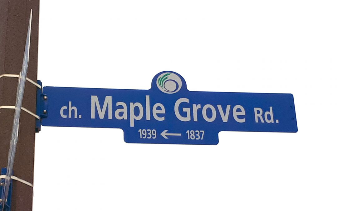 NOTEBOOK: Lowering the speed limit on Maple Grove Road