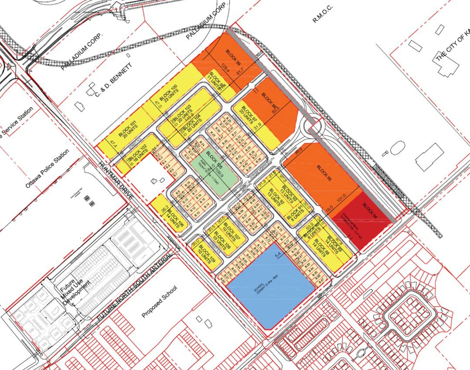 130 Huntmar Plan of Subdivision