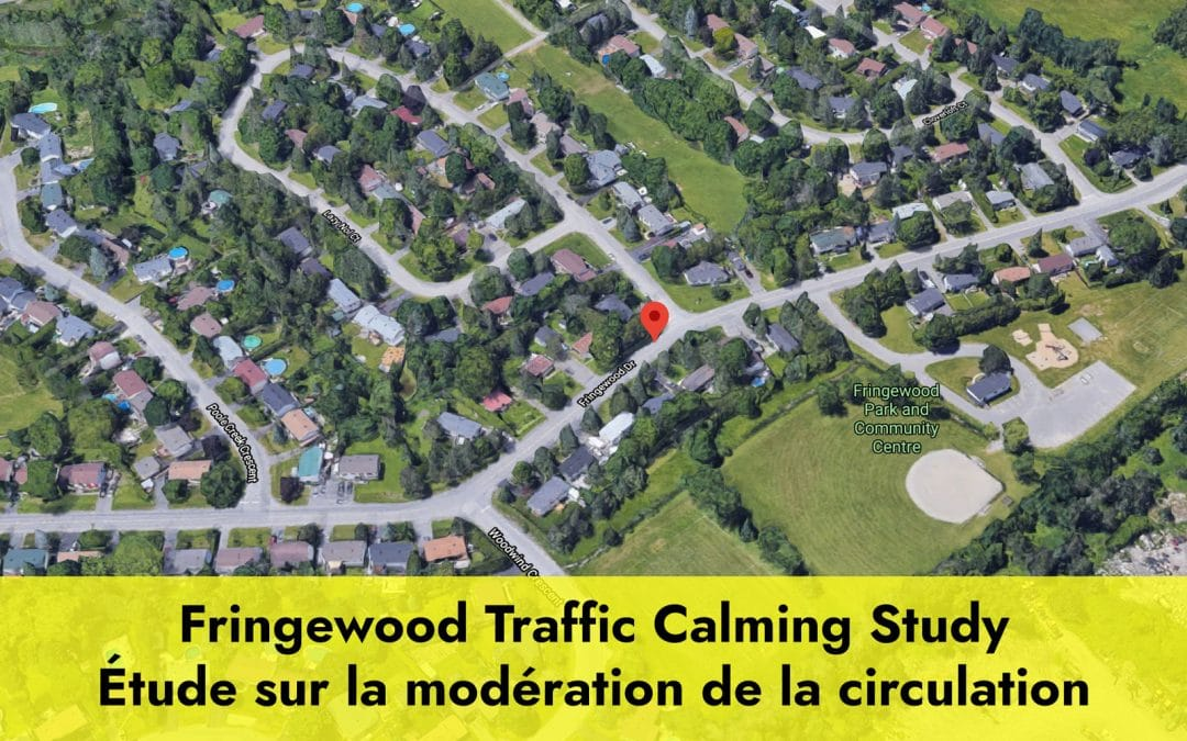 Fringewood Drive Traffic Calming Study – Project Update
