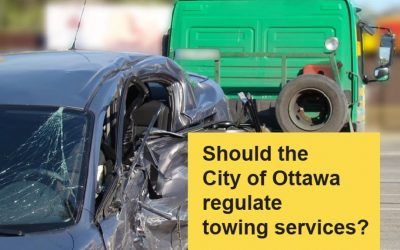 Should Ottawa regulate towing services?