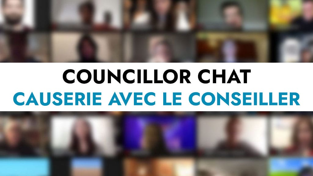 JUNE 4: Virtual Councillor Chat