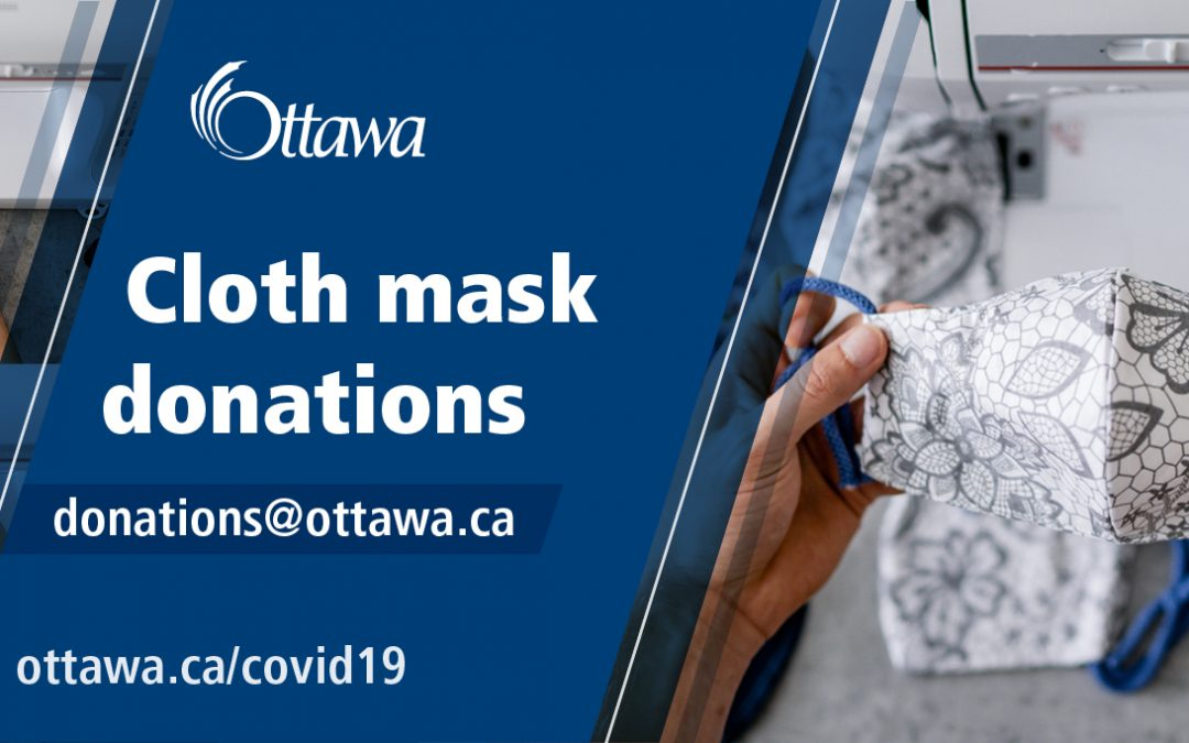 City seeking donations of cloth masks for those in need