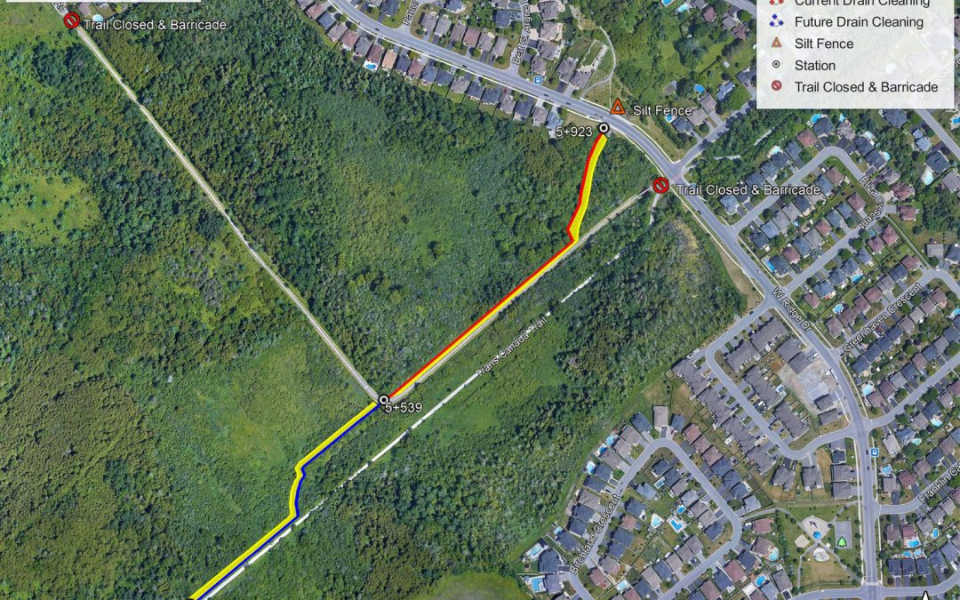 Trans Canada Trail temporarily closed next week, west of West Ridge