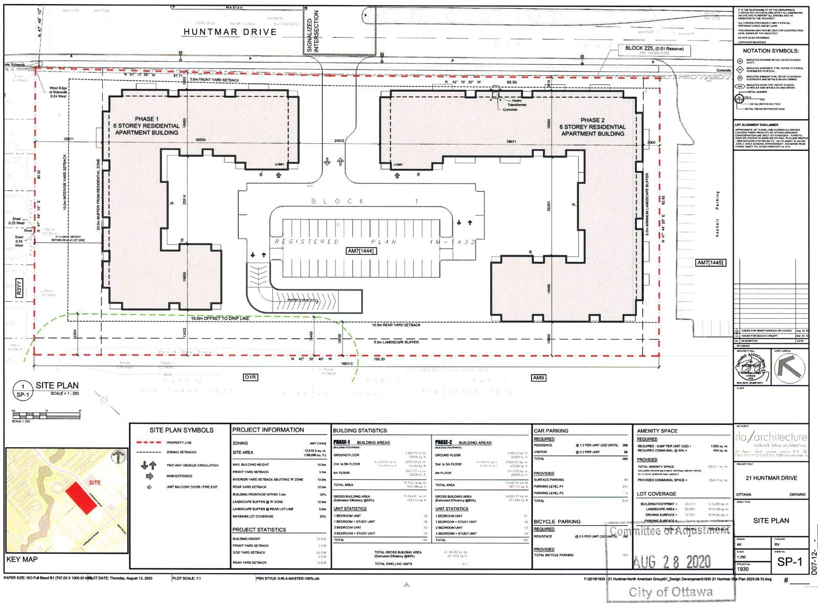 21 Huntmar Site plan