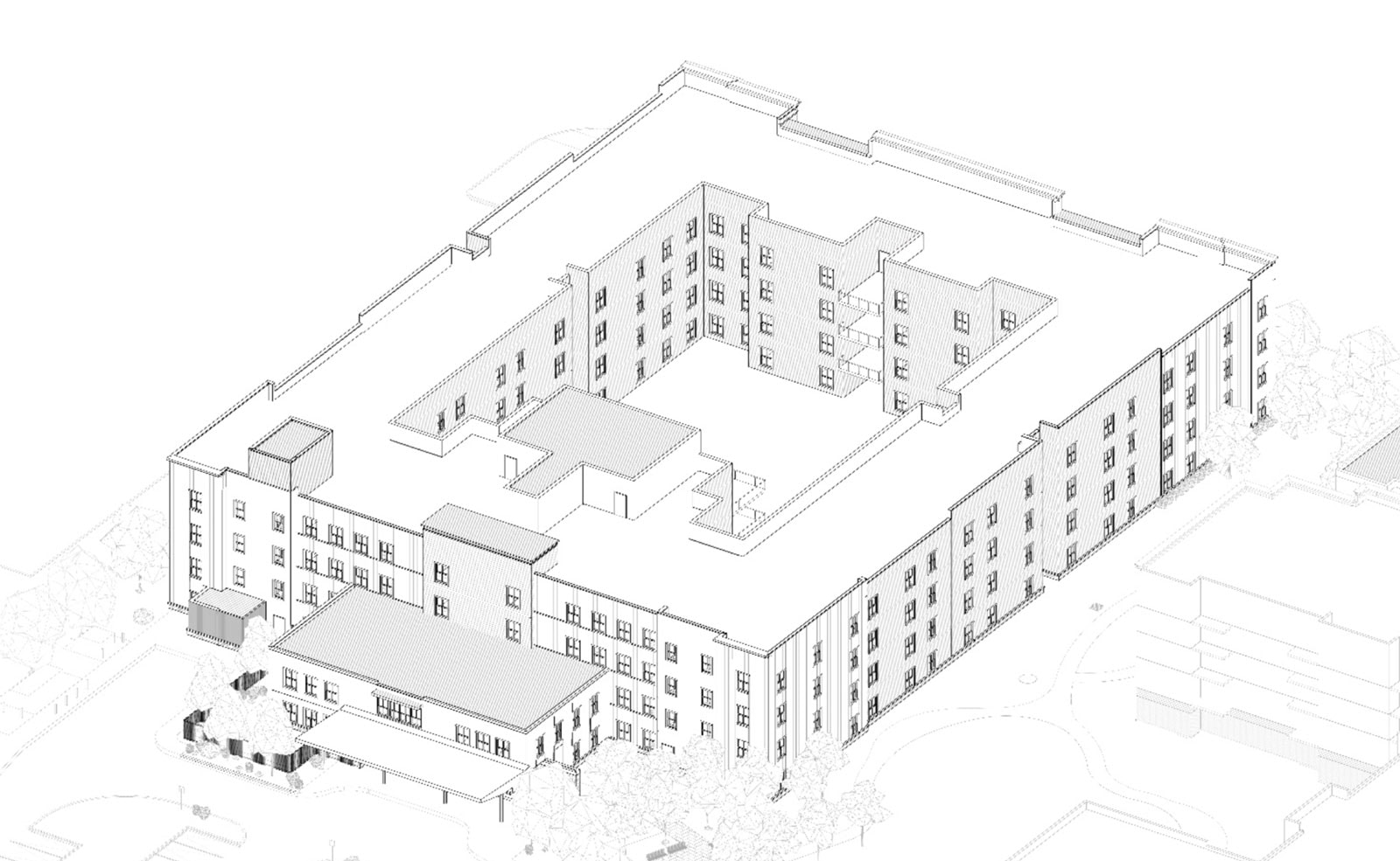 Proposed Extendicare LTC at 2510 Wellings Private