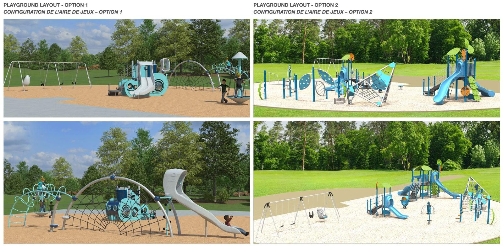 Maize Park playground design