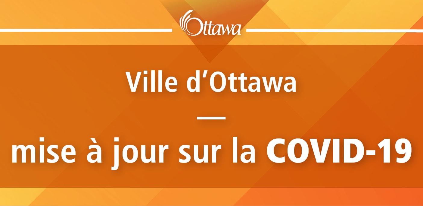 mise à jour sur la COVID-19