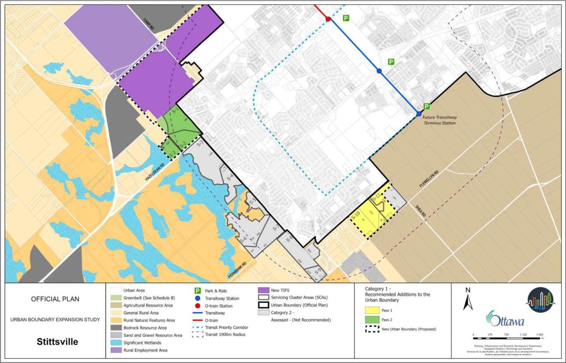 Urban land expansion study