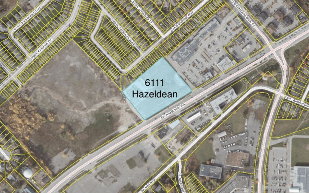 6111 Hazeldean: Site Plan Control and Lifting of a Hold Symbol