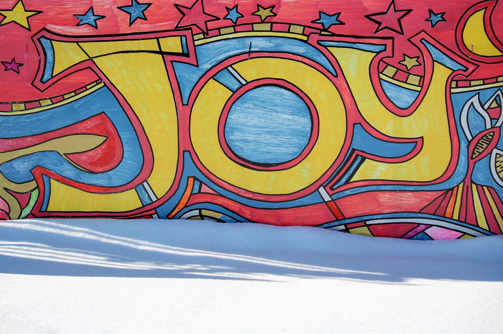 Joy - Sign at Stittsville United Church