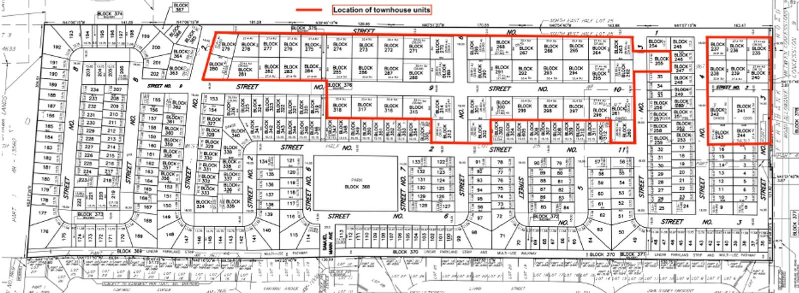 6015 Fernbank site plan